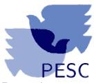 PESC Friedenserziehung Logo